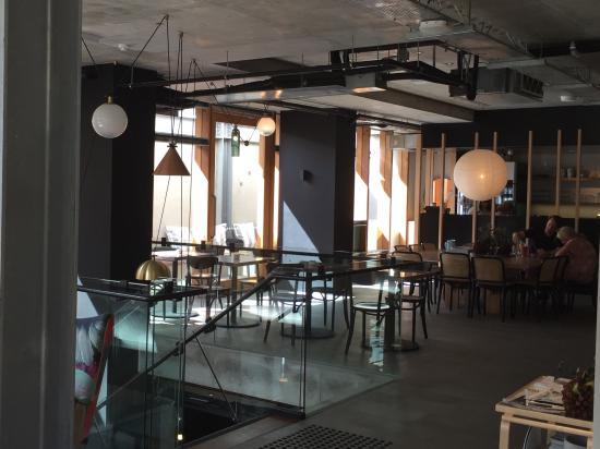 Alex Hotel: The communal area