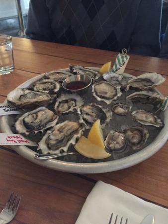 Westward: Fresh but pricey oysters