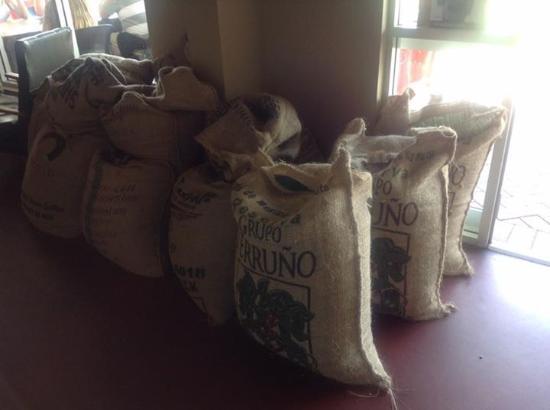 Henley Brook, Avustralya: Sacks of Yahava coffee