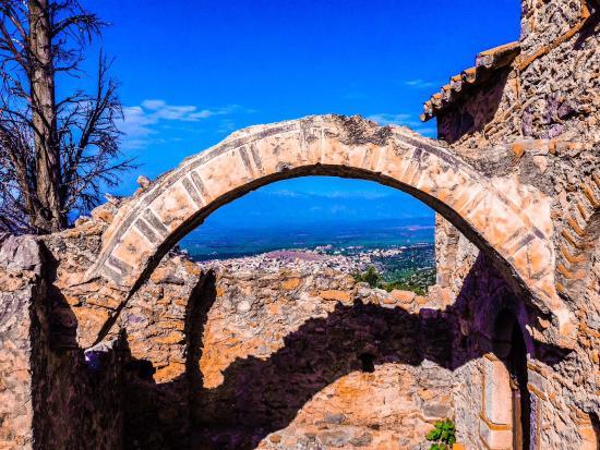 Castle of Geraki: 5