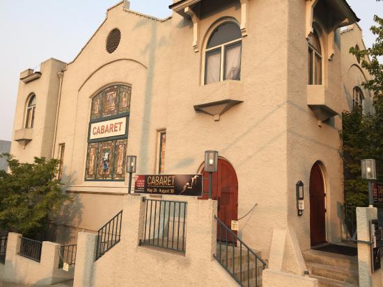 Oregon Cabaret Theatre: Cabaret facade