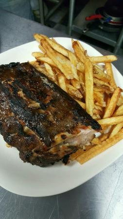 Monteagle, Τενεσί: Baby Backs and Hand Cut Fries