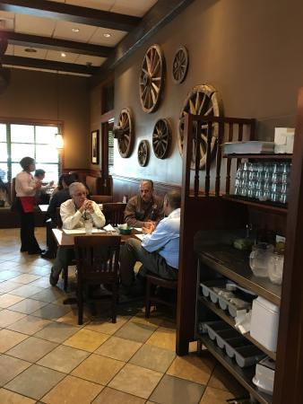 La Caretta : The food is amazing and the service is excellent. I left full and happy every visit.