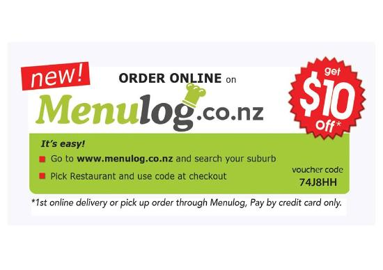 Otorohanga, Nueva Zelanda: online order for food and drinks