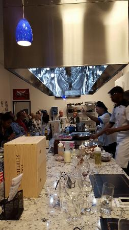 The Cooking Experience : Great Night pairing amazing food with Girgich Hills Wines