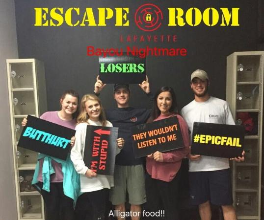 Lafayette In Escape Room
