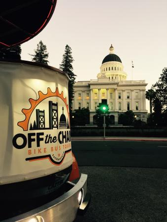 Off the Chain Bike Bus Tours