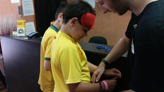 กาเลาดรา, ออสเตรเลีย: The handcuffs might come in handy boys.