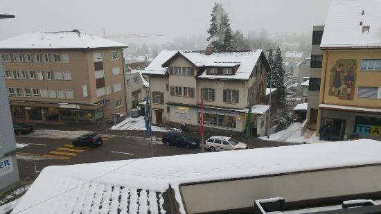 Uzwil, Schweiz: Room and View