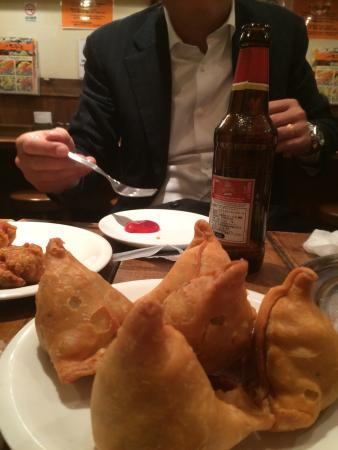 Indian combo meal Thali Ya Kanda Nishiguchi