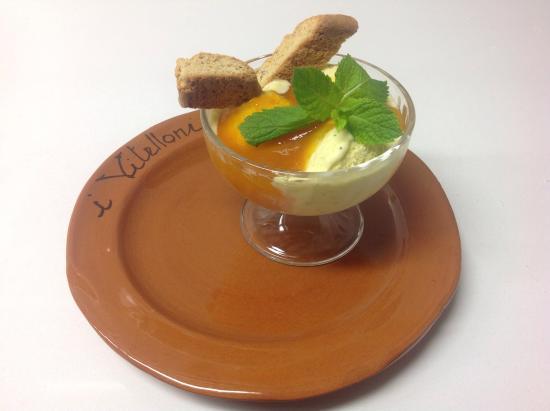 Petrignano d'Assisi, Itália: Dessert