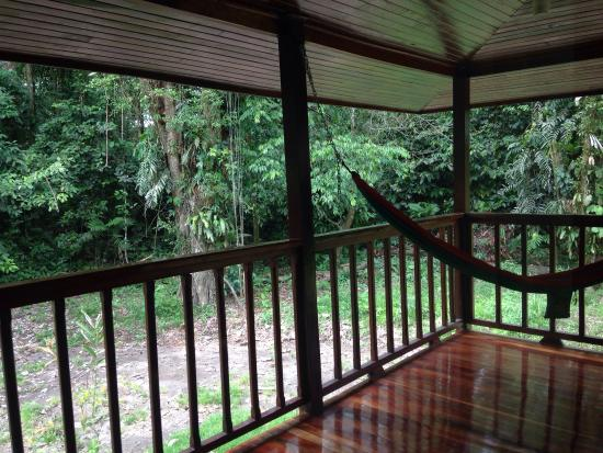 Selva Verde Lodge: Outside the rooms