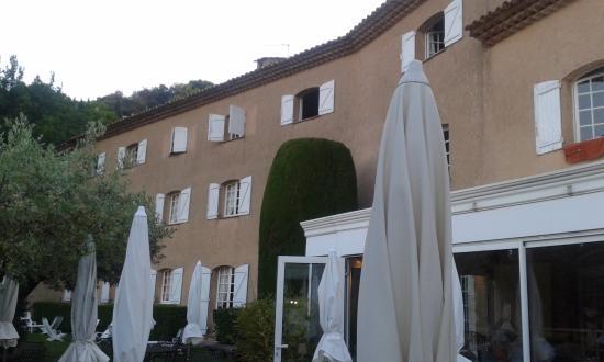 Moissac-Bellevue, Frankrijk: vue de la terrasse