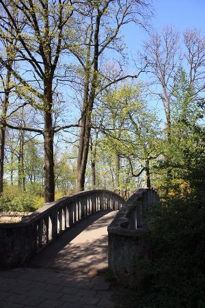 Kaunas Botanical Garden: Старый мост в Ботаническом саду Каунаса