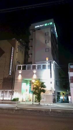 Hotel New Matsugae : JR野田駅のホームから