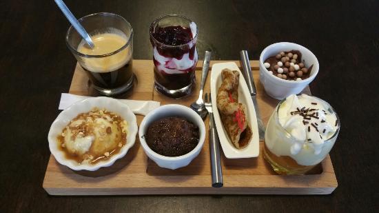 Saint-Pons-de-Thomieres, França: Café Gourmand