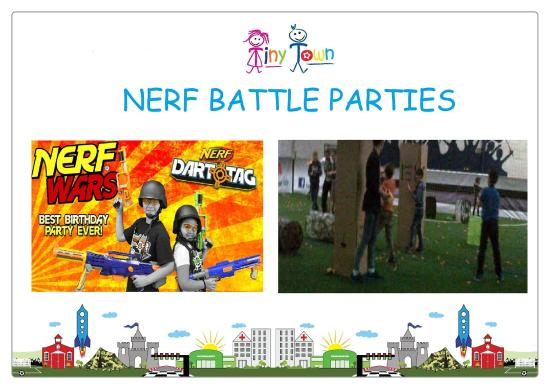 Tiny Town: NERF Battle Party