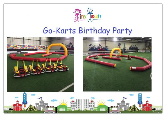 Tow N Go >> Go Karts Party Picture Of Tiny Town Larkfield Tripadvisor