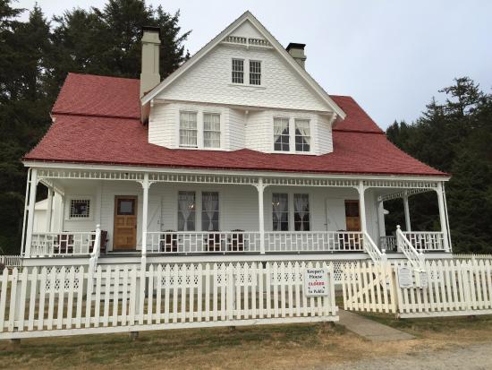 Florence, OR: Lightkeeper's house