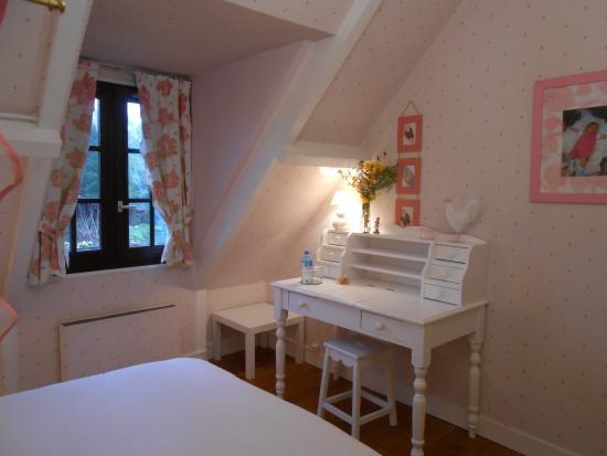 Sainte Genevieve Les Gasny, Frankrig: Chambre ROSE