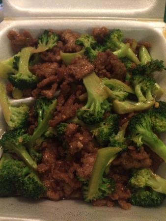 Lotus Hunan Restaurant: Beef and Broccoli
