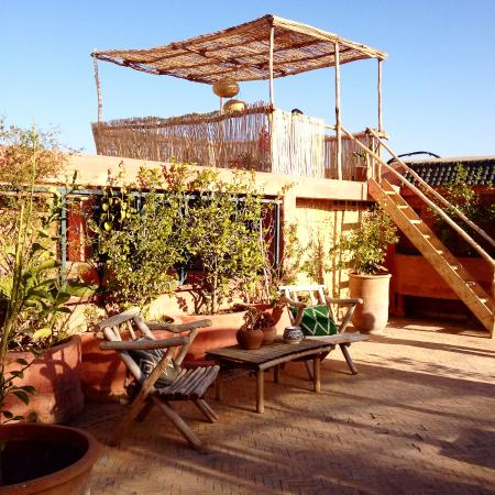 Terrasses Picture Of Riad Jardin Secret Marrakech Tripadvisor