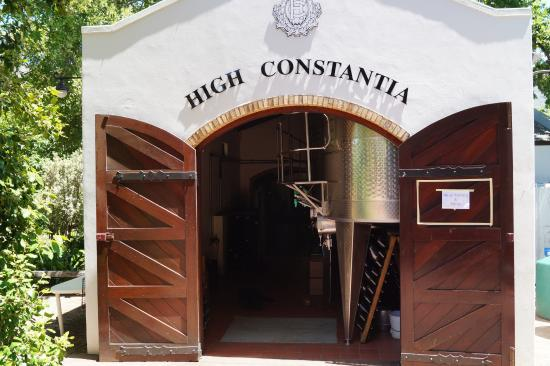 High Constantia Wine Cellar