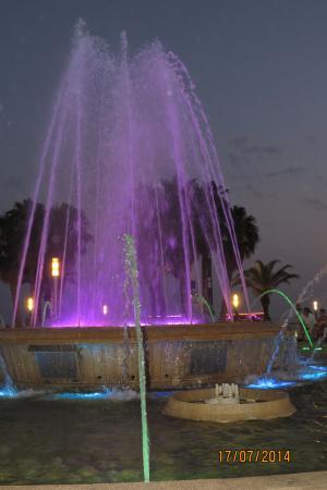 Illuminated Fountain Bild