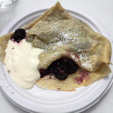 Lincoln City Farmers Market: crepes