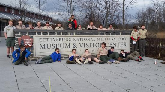 Gettysburg National Military Park: Troop 26