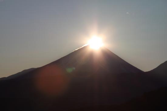 Nirasaki, Japão: ダイヤモンド富士
