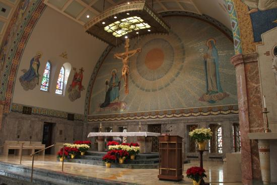 ‪‪Emmitsburg‬, ‪Maryland‬: The main altar‬