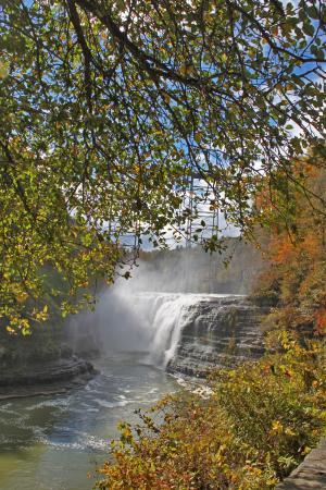 upper falls picture of letchworth state park castile tripadvisor rh tripadvisor com