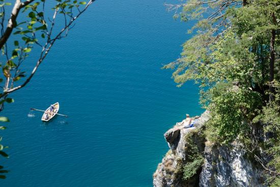 Bavaria, Germany: Man kann Ruderboot fahren