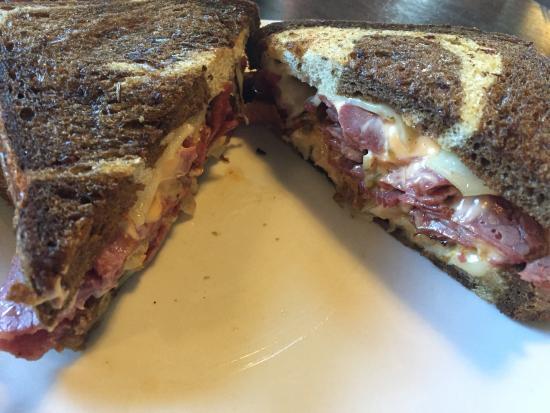 The Diner: Ruben sandwich