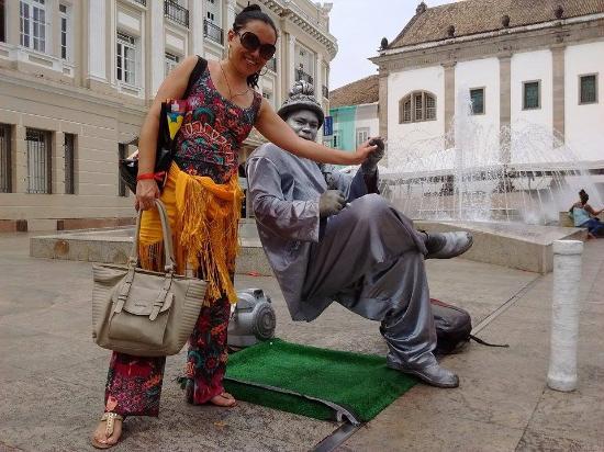 Pelourinho: Artista de rua
