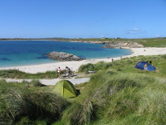 Clifden ecoBeach Camping & Caravanning Park: Connemara Camping on the Beach