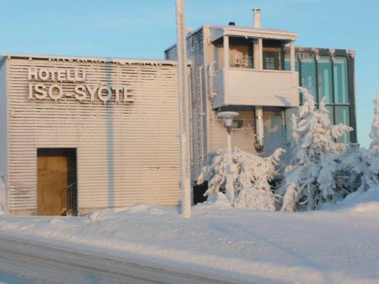 Iso-Syote, Finland: looking back towards the hotel