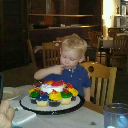 birthday party at pizza plus picture of the plus eau claire rh tripadvisor com