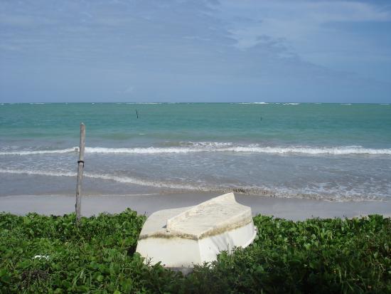 Pousada do Toque: Praia perfeita para caminhar e descansar