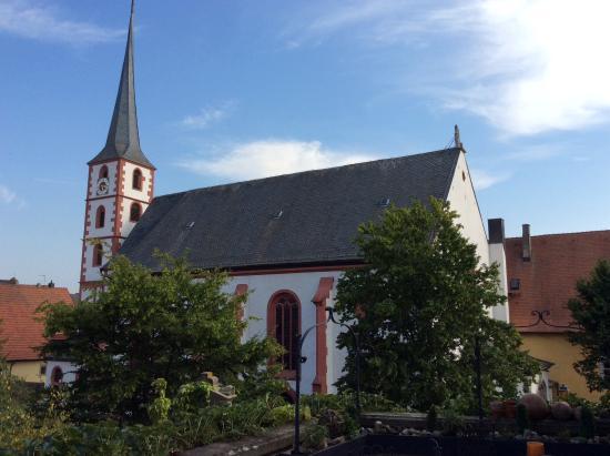 Frickenhausen, Tyskland: Uitzicht