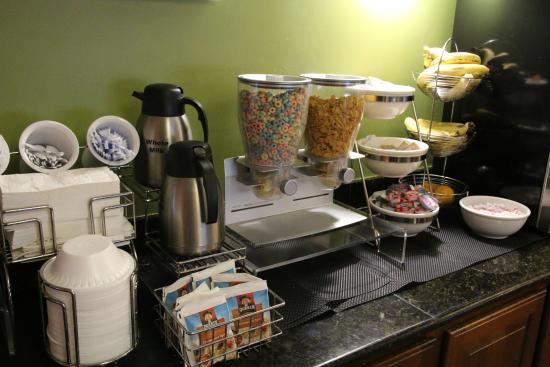 Sleep Inn at Miami International Airport: Petit dej