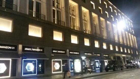 ingresso picture of armani megastore milan tripadvisor