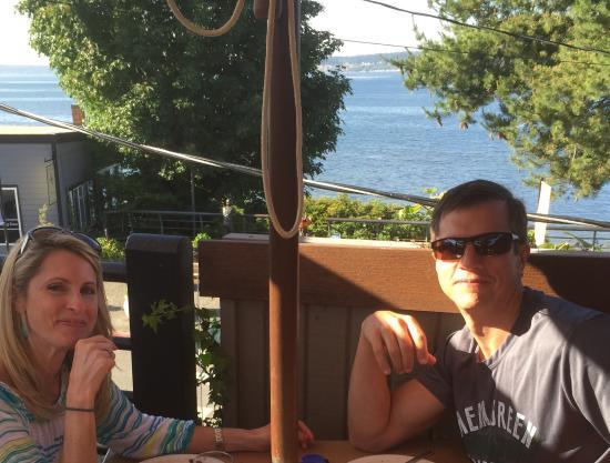 Langley, WA: Patio dining