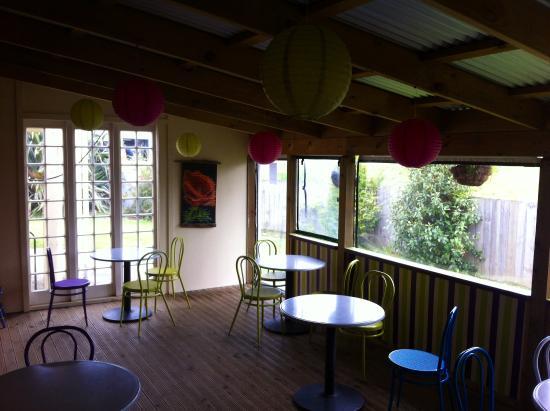 Levin, Nya Zeeland: enclosed deck