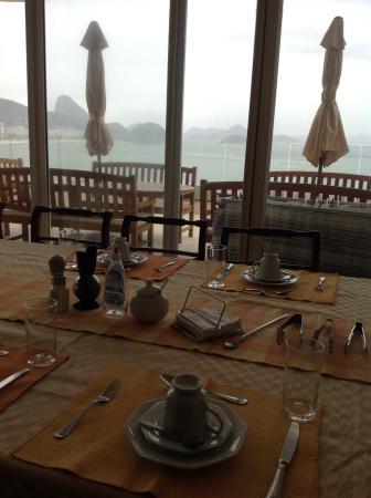 Rio Guest House ( Marta's Guest House): Vista durante el desayuno