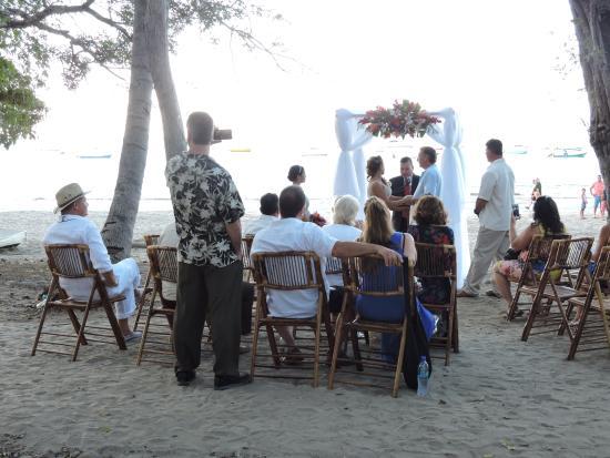 Playa Hermosa, Costa Rica: wedding