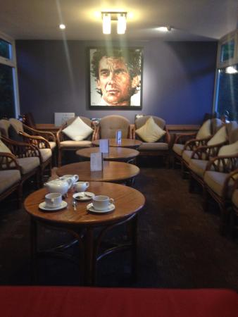 Priors Hardwick, UK: Coffee lounge after-dinner