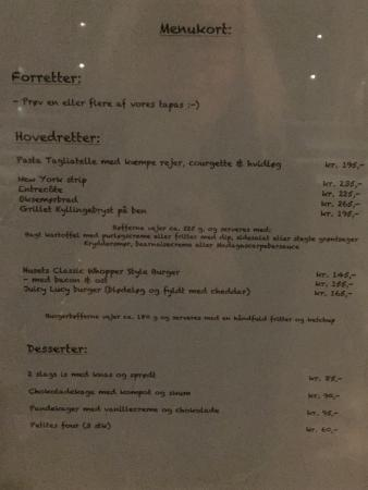 Holbaek, الدنمارك: Restaurant Linden
