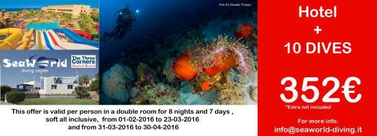 Seaworld Diving Center: winter offer